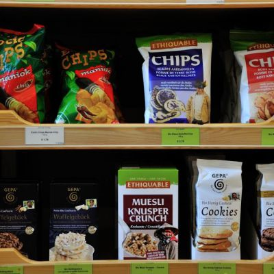 Chips, Popquins und Cookies